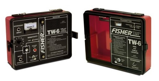 Fisher Labs Products - Fisher TW-6 Pipe & Cable Locator